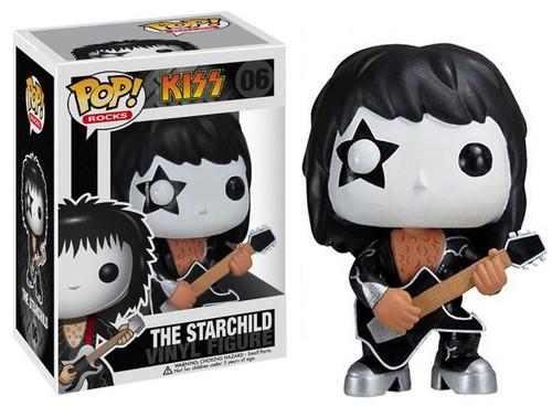Funko KISS POP! Rocks The Starchild Vinyl Figure #06 [Version 1]