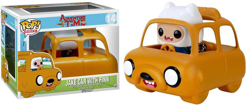 Funko Adventure Time POP! TV Jake Car with Finn Vinyl Figure #302