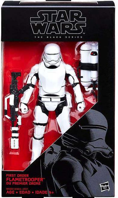 Star Wars The Force Awakens Black Series First Order Flametrooper Action Figure