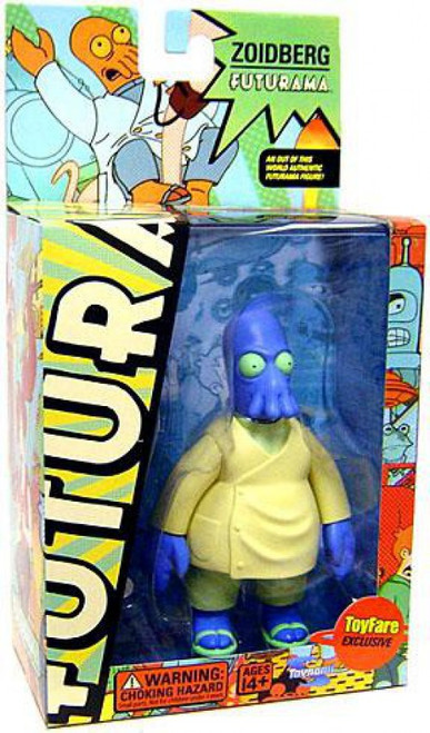 Futurama Dr. Zoidberg Exclusive Action Figure [Universe B Parabox, Blue Version]