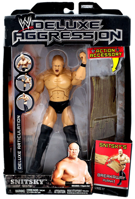 WWE Wrestling Deluxe Aggression Series 11 Snitsky Action Figure