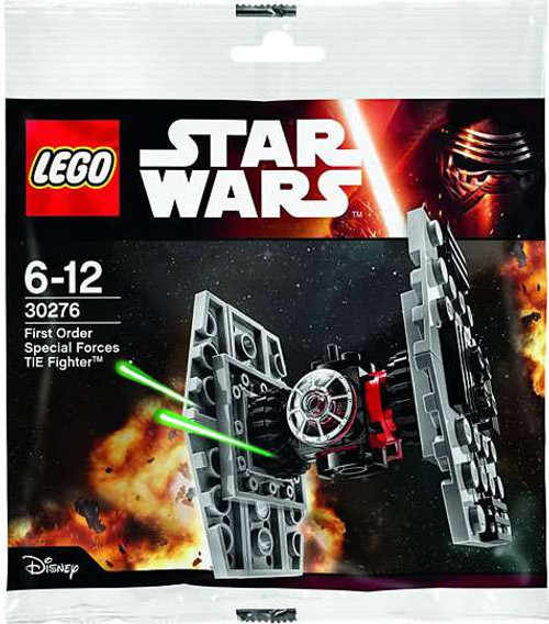 LEGO Star Wars The Force Awakens First Order Special Forces TIE Fighter Set #30276 [Bagged]
