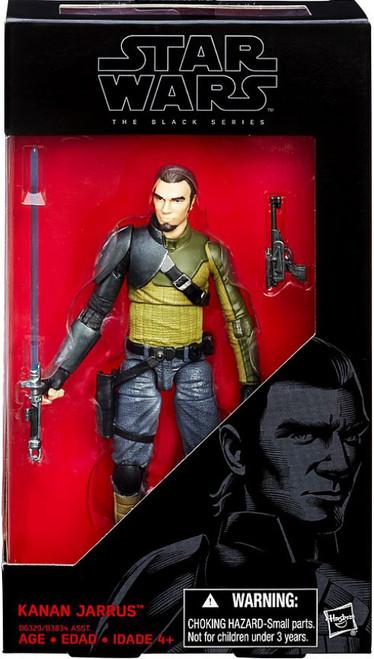 Star Wars Rebels Black Series Kanan Jarrus Action Figure