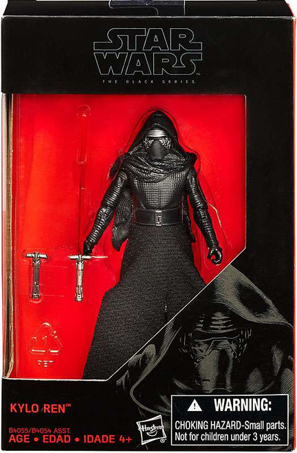 Star Wars The Force Awakens Black Series Kylo Ren Exclusive Action Figure [3.75 Inch]