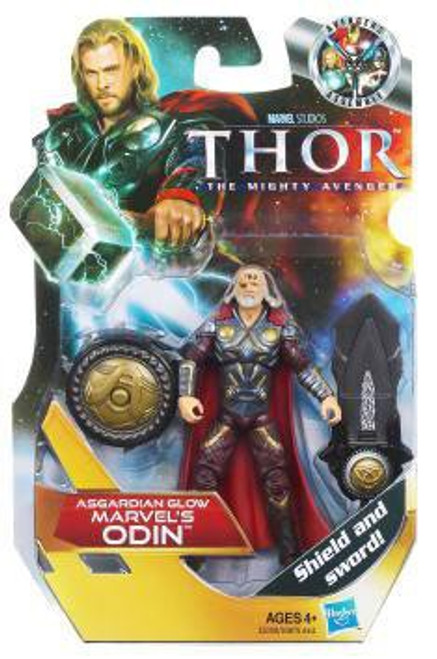 Thor The Mighty Avenger Odin Action Figure #13 [Asgardian Glow]