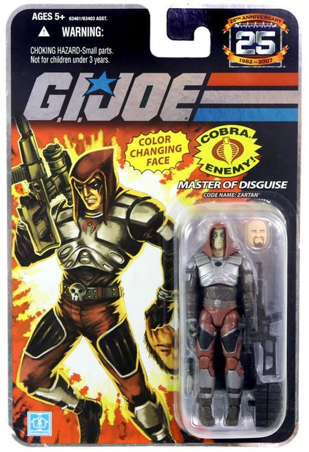GI Joe 25th Anniversary Wave 3 Zartan Action Figure