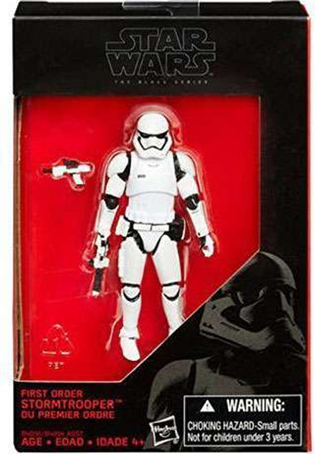 "Star Wars The Force Awakens Black Series First Order Stormtrooper Action Figure [3.75""]"