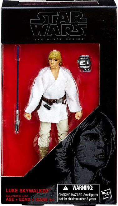 Star Wars A New Hope Black Series Luke Skywalker Action Figure [White Outfit]