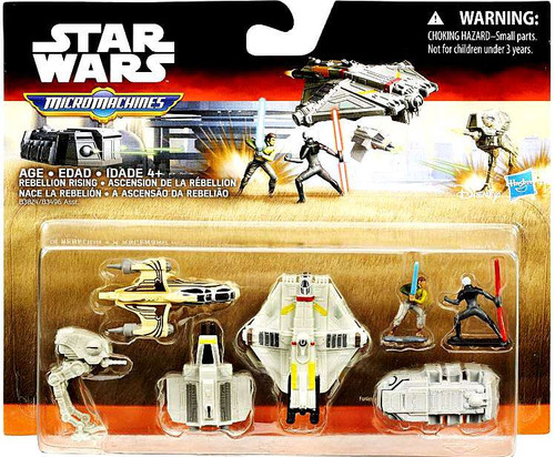 Star Wars Rebels Micro Machines Rebellion Rising Vehicle Pack