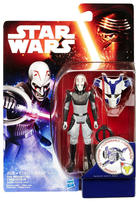Star Wars Rebels Jungle & Space The Inquisitor Action Figure [Space Mission]
