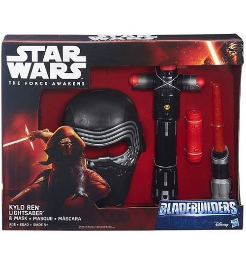 Star Wars The Force Awakens Bladebuilders Kylo Ren Mask & Lightsaber Exclusive Roleplay Set