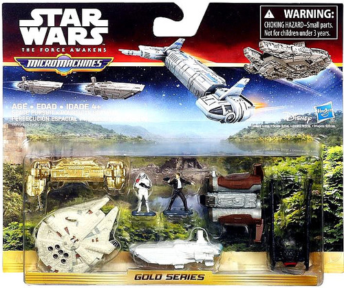Star Wars The Force Awakens Micro Machines Space Pursuit Vehicle Pack