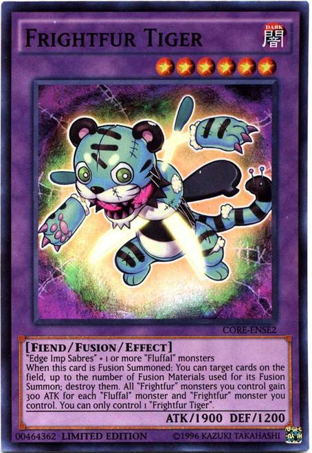 YuGiOh Clash of Rebellions Special Edition Super Rare Frightfur Tiger CORE-ENSE2