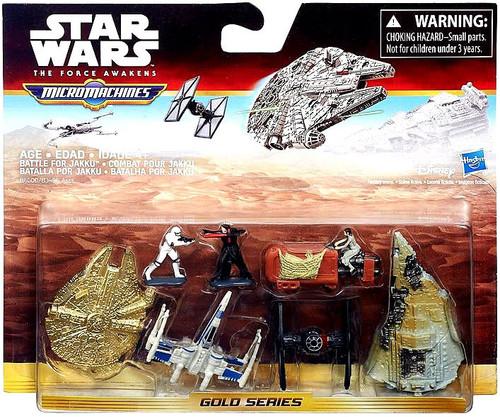 Star Wars The Force Awakens Micro Machines Battle For Jakku Vehicle Pack