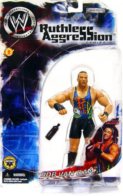 WWE Wrestling Ruthless Aggression Series 6 Rob Van Dam Action Figure