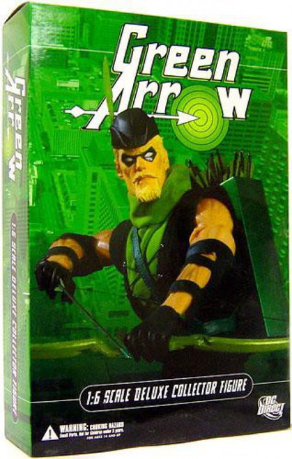 DC 1:6 Scale Deluxe Green Arrow Collectible Figure