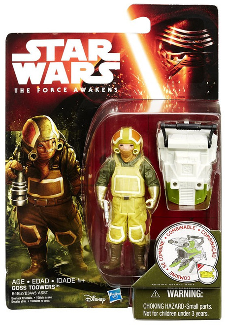 Star Wars The Force Awakens Jungle & Space Goss Toowers Action Figure [Forest Mission]