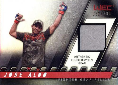 Topps UFC 2010 Knockout Relic Jose Aldo FG-JA