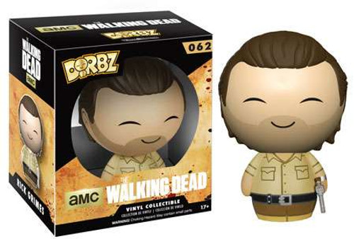 Funko The Walking Dead AMC TV Dorbz Rick Grimes Vinyl Figure #62