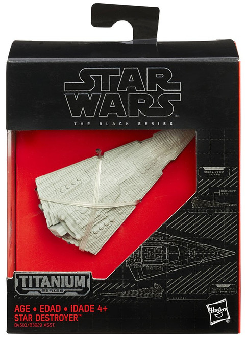 Star Wars Black Titanium Star Destroyer 2-Inch Diecast Vehicle #24