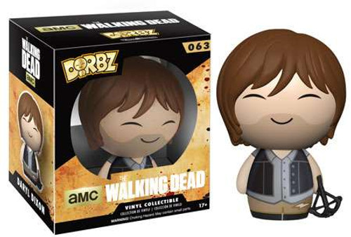 Funko The Walking Dead AMC TV Dorbz Daryl Dixon Vinyl Figure #63