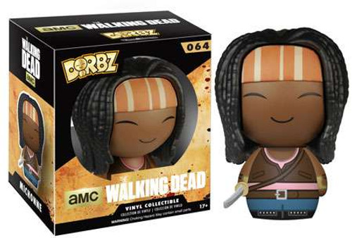 Funko The Walking Dead AMC TV Dorbz Michonne Vinyl Figure #64