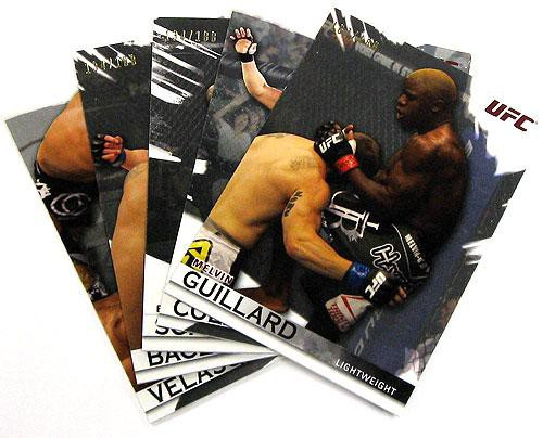 Topps UFC 2010 Knockout Parallel Silver Parallel Base Single Card