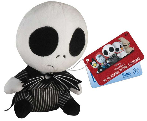 Funko Nightmare Before Christmas Mopeez Jack Skellington 5-Inch Plush