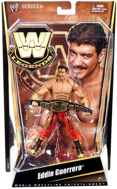 WWE Wrestling Legends Series 6 Eddie Guerrero Action Figure