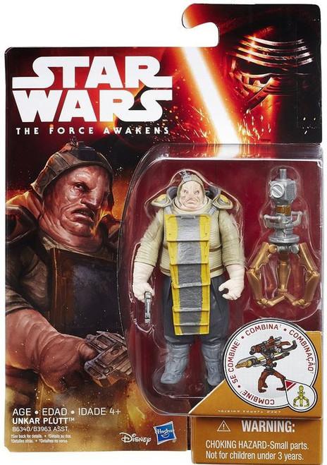 Star Wars The Force Awakens Snow & Desert Unkar Plutt Action Figure [Junk Dealer]
