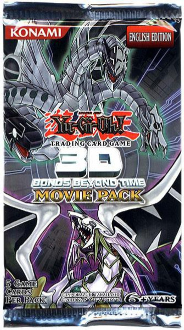 YuGiOh Trading Card Game 3D Bonds Beyond Time Booster Pack [5 Cards]