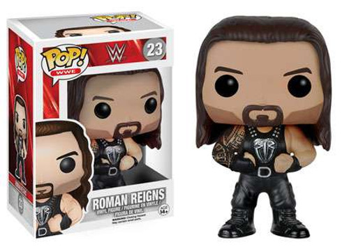 Funko WWE Wrestling POP! Sports Roman Reigns Vinyl Figure #23