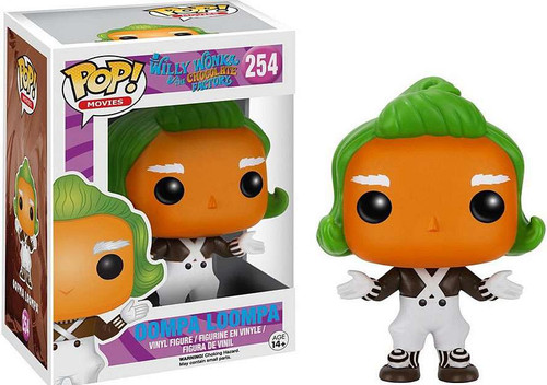 Funko Willy Wonka & The Chocolate Factory POP! Movies Oompa Loompa Vinyl Figure #254