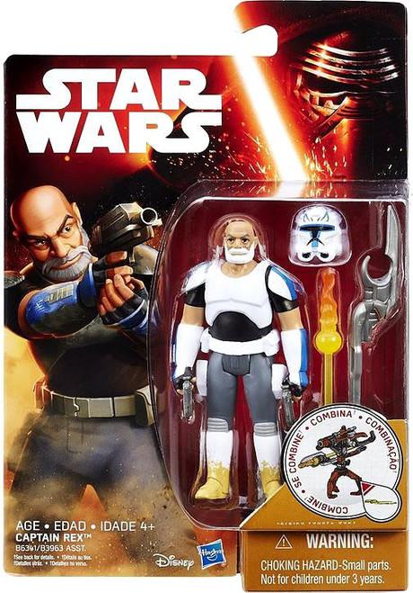 Star Wars Rebels Snow & Desert Captain Rex Action Figure