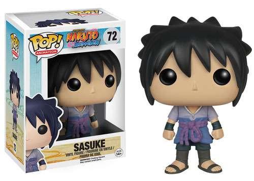 Funko Naruto POP! Anime Sasuke Vinyl Figure #72