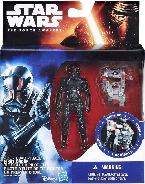 Star Wars The Force Awakens Mission Armor First Order Tie Fighter Pilot Elite Action Figure