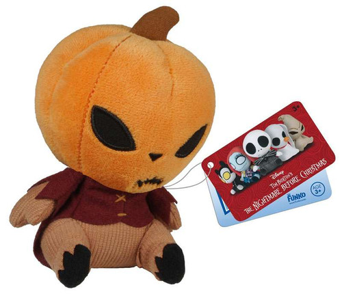 Funko Nightmare Before Christmas Mopeez Pumpkin King 5-Inch Plush