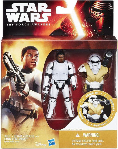 Star Wars The Force Awakens Mission Armor Finn FN-2187 Action Figure