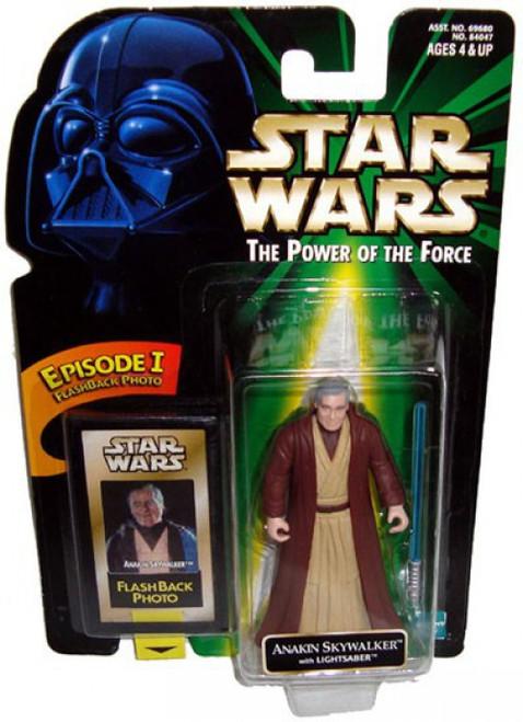 Star Wars Return of the Jedi Power of the Force POTF2 Flashback Anakin Skywalker Action Figure
