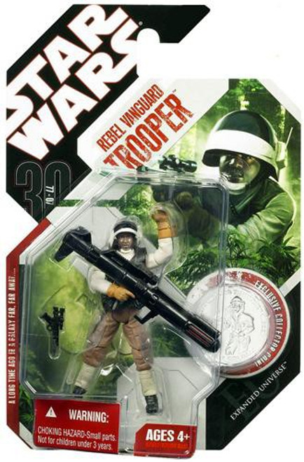 Star Wars Expanded Universe 30th Anniversary 2007 Wave 8 Rebel Vanguard Trooper Action Figure #53