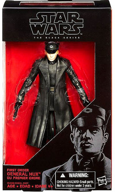 Star Wars The Force Awakens Black Series First Order General Hux Action Figure