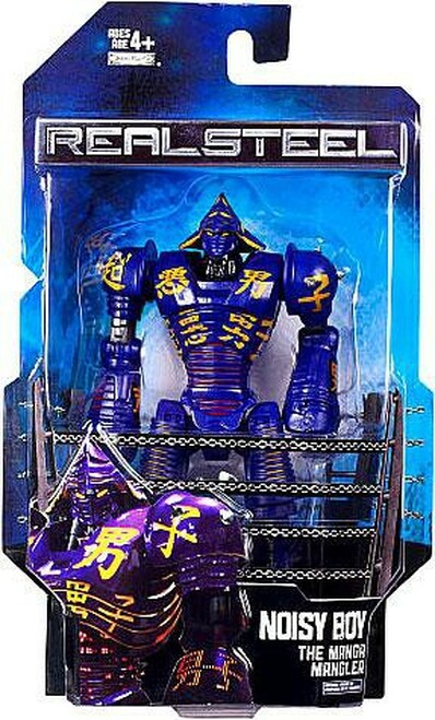 Real Steel Series 1 Deluxe Noisy Boy Action Figure [The Manga Mangler]