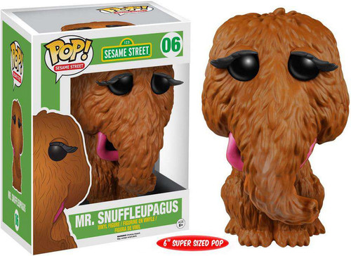 Funko Sesame Street POP! TV Mr. Snuffleupagus 6-Inch Vinyl Figure #06 [Super-Sized]
