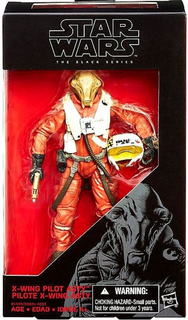 Star Wars The Force Awakens Black Series X-Wing Pilot Asty Action Figure