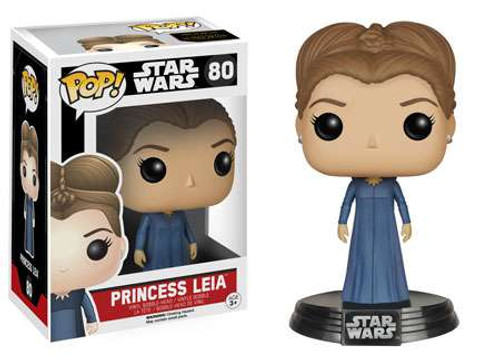 Funko The Force Awakens POP! Star Wars Princess Leia Vinyl Bobble Head #80 [EP7]