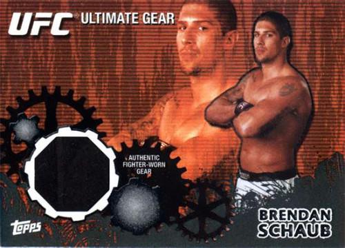 Topps UFC 2010 Championship Onyx Ultimate Gear Relic Brendan Schaub UG-BS