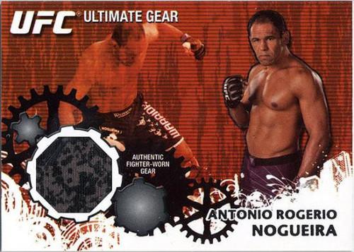 Topps UFC 2010 Championship Ultimate Gear Relic Antonio Rodrigo Nogueira UG-ARN