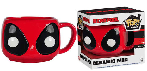 Funko Marvel POP! Home Deadpool Ceramic Mug