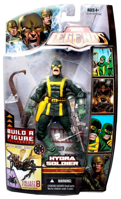 Marvel Legends Brood Queen Series Hydra Soldier Action Figure [Open Mouth Variant]