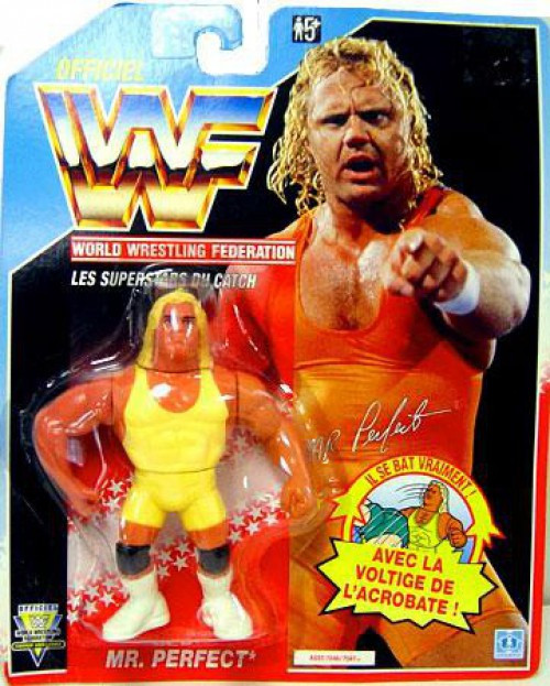 WWE Wrestling Vintage WWF Mr. Perfect Action Figure [French]